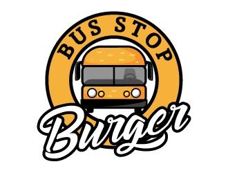 Bus Stop Burger logo design
