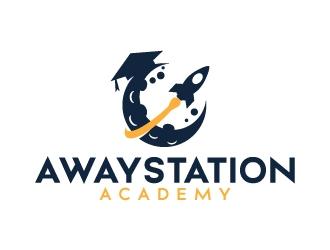 Awaystation Academy logo design
