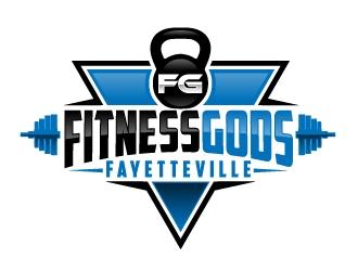 Fitness Gods logo design