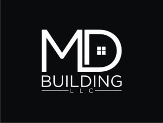 MD Building LLC logo design