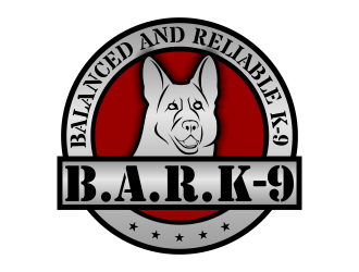 Balanced and Reliable K-9     (B.A.R.K-9) logo design