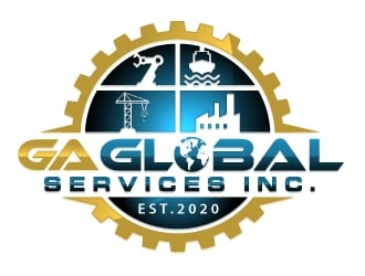 GA Global Services inc. Logo Design