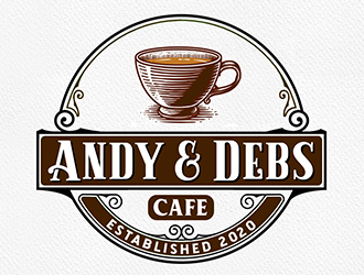 Andy and Debs Cafe Logo Design