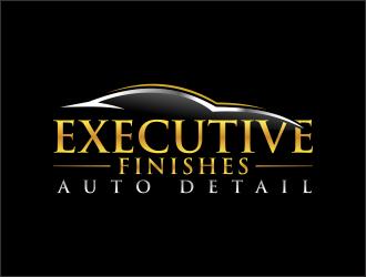 Executive finishes auto detail logo design