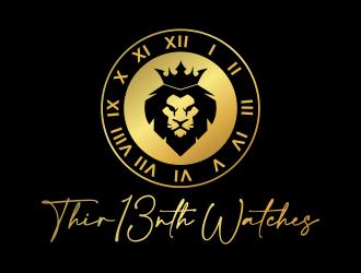 Thir13nth Watches logo design