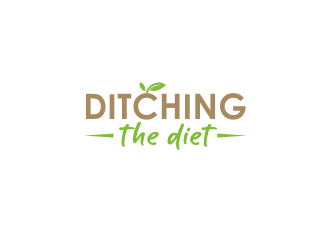 Ditching The Diet logo design