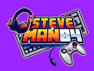 SteveMan84 logo design