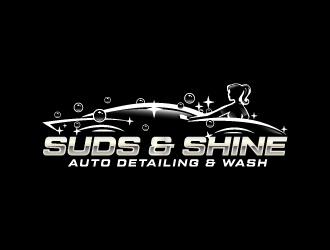 Suds&Shine  logo design