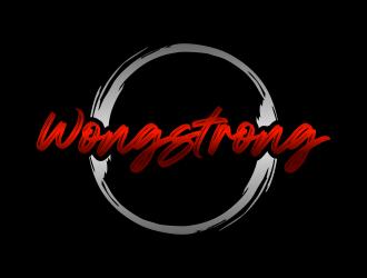 Wong Strong  logo design