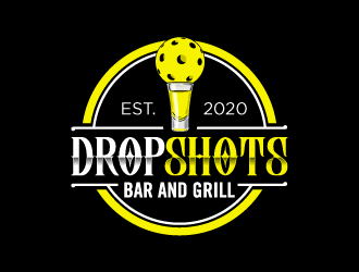 Drop Shots logo design