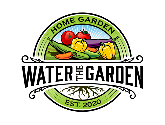 Water The Garden logo design