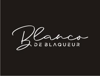 Blanco de Blaqueur logo design