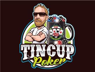 TinCupPoker logo design