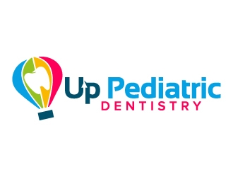 Up Pediatric Dentistry logo design