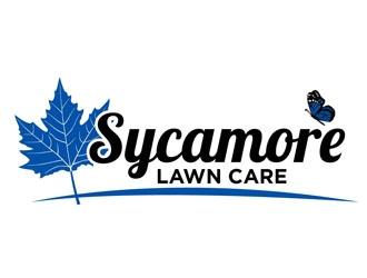 Sycamore Lawn Care logo design