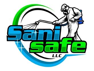 Sani safe logo design
