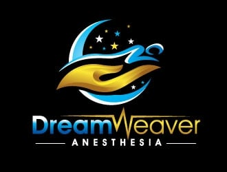 Dream Weaver Anesthesia logo design