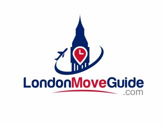 LondonMoveGuide (LondonMoveGuide.com) logo design