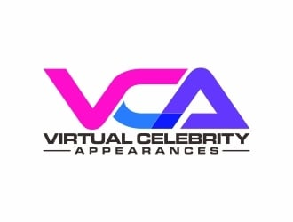Virtual Celebrity Appearances logo design