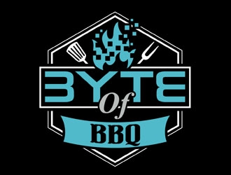 Byte of BBQ logo design