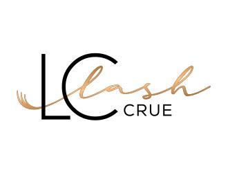 LC Lash Crue  logo design