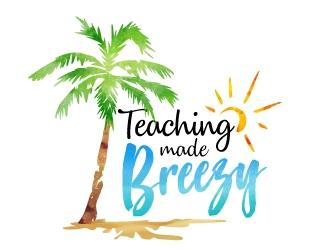 Teaching Made Breezy logo design winner
