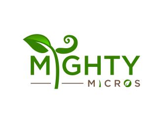Mighty Micros logo design