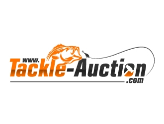 www.tackle-auction.com logo design