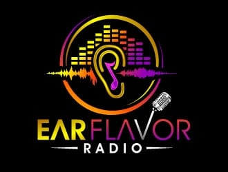 Ear Flavor Radio  logo design
