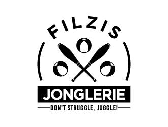 Filzis Jonglerie logo design