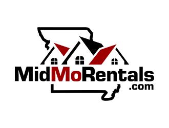 MidMoRentals logo design