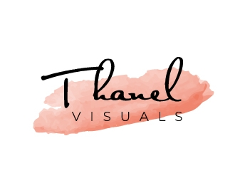 Thanel Visuals  logo design