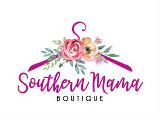 Southern Mama Boutique logo design