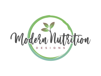 Modern Nutrition Designs logo design