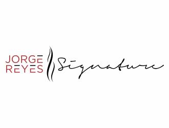 Jorge Reyes Signature logo design