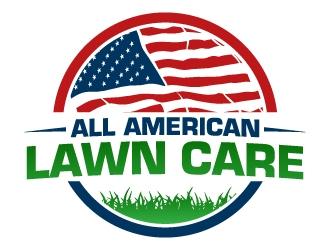 All American Lawn Care  logo design