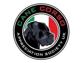 Cane Corso Appreciation Society UK logo design