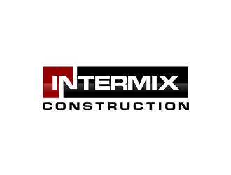 Intermix Construction logo design