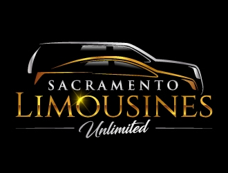 Sacramento Limousines Unlimited logo design
