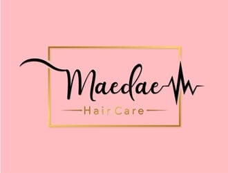 Maedae Hair Care logo design