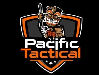 Pacific Tactical  logo design