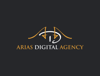 Arias Digital Agency logo design