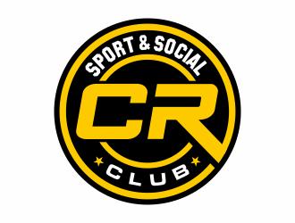 CR Sport & Social Club logo design