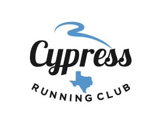 Cypress Running Club logo design