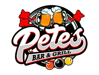 Petes Bar logo design