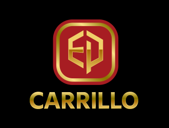 E.P. Carrillo logo design