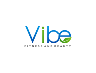 Vibe Fitness and Beauty  logo design
