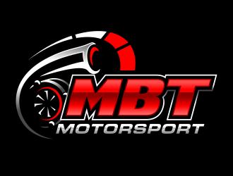 MBT Motorsport logo design
