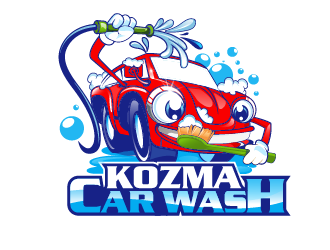 Bakta Car Wash logo design