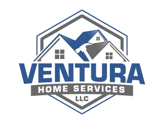 Ventura Home Services or Ventura Home Services, LLC logo design